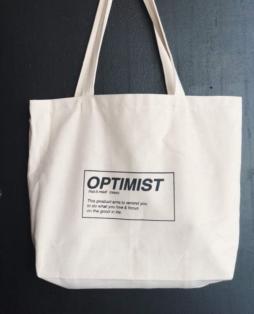 Optimist Tote Bag